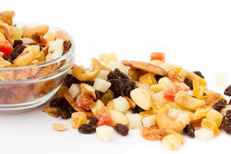 tropical nuts and fruits mix