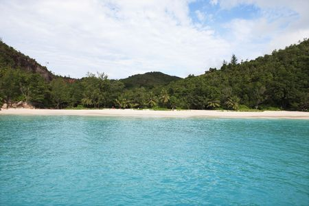 Photo pour bay of anse lazio praslin seychelles islands - image libre de droit