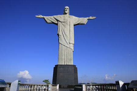 Photo for corcovado christ redeemer in rio de janeiro brazil - Royalty Free Image