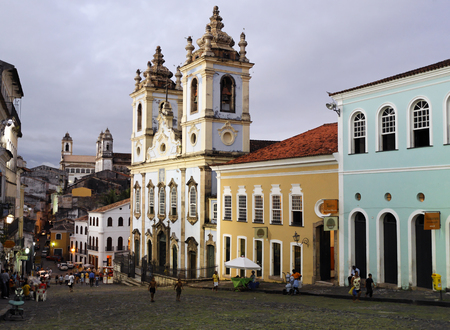 Photo for wishes bomfim chuch in the beautiful city of salvador in bahia state brazil - Royalty Free Image
