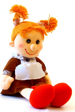 rag scool doll