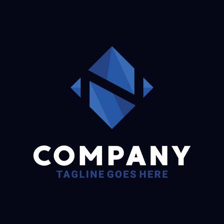Geometric Logo Design Inspiration For Business And Company.