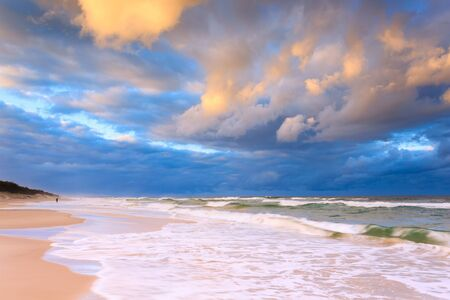 Gold Coast Seascape Wallpaper Mural