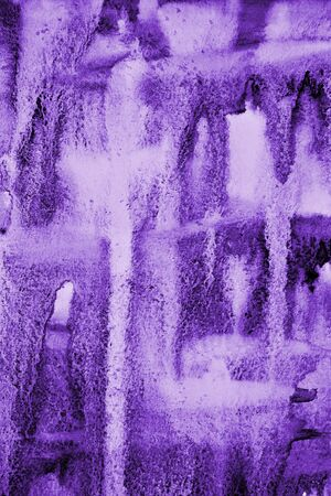 Photo pour Abstract lilac watercolor on paper texture can use as background - image libre de droit
