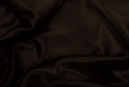 Photo for Smooth elegant brown silk or satin texture can use as abstract background. Luxurious background design wallpaper. In Sepia toned. Retro style - Royalty Free Image