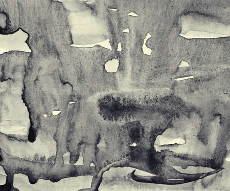 Photo for Abstract watercolor on paper texture can use as background. In Sepia toned. Retro style - Royalty Free Image