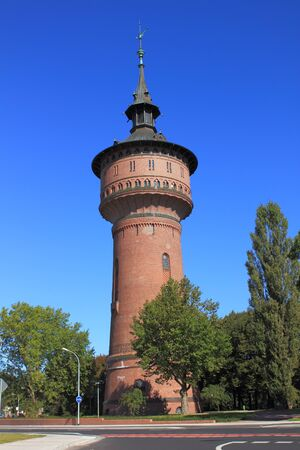 Old water tower in Forst (Lausitz) Germany