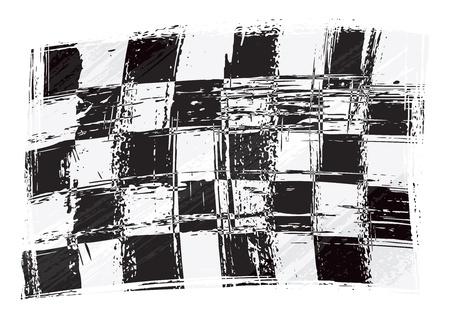 Illustration pour Racing flag - image libre de droit