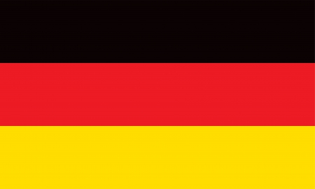 Vector Federal Republic of Germany flag