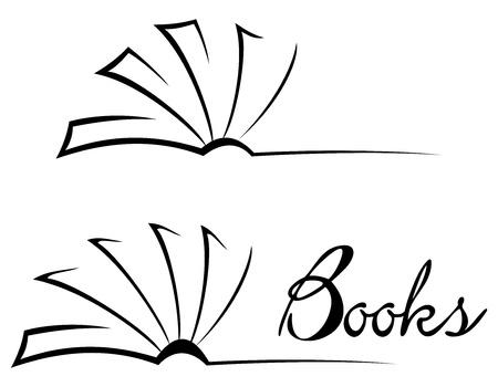 Illustration pour Book symbol - image libre de droit