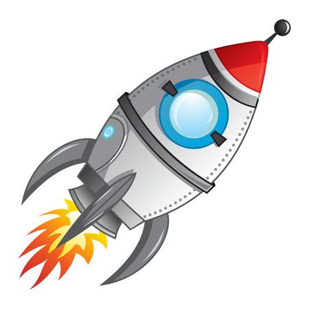 Illustration pour Rocket launch - image libre de droit