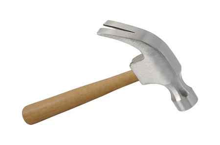 Foto de Iron hammer isolated on a white background - Imagen libre de derechos