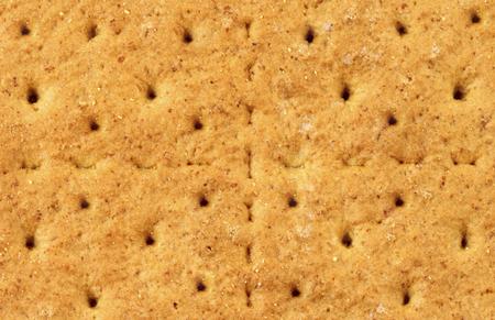 Graham cracker background or texture