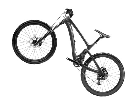 Photo for mountain bike isolated - Royalty Free Image