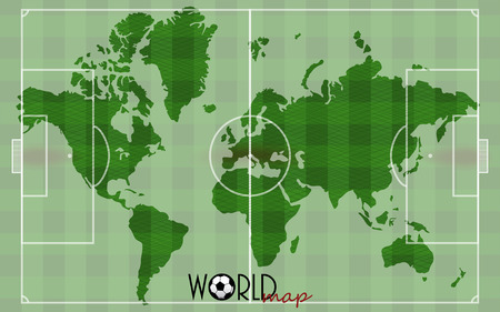 World Map Soccer