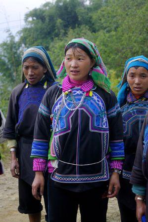 Women of the ethnic (minority) Ha Nhi