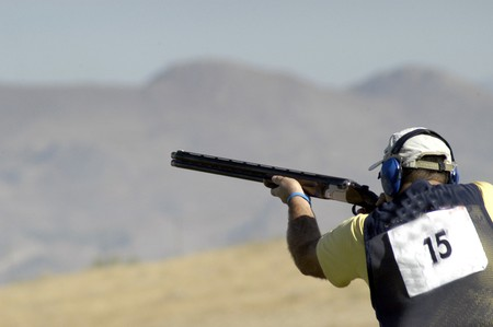 World Championship clay pigeon shooting
