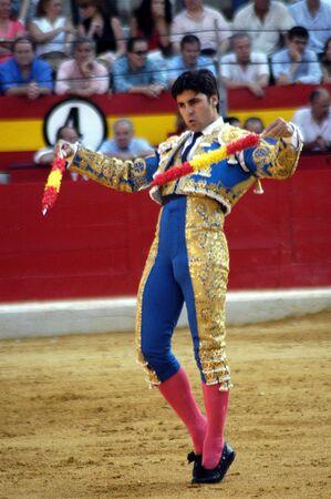 The bullfighter Fran Rivera in the bullfight held in Granada on 6 June 2007, at Feria de Corpus