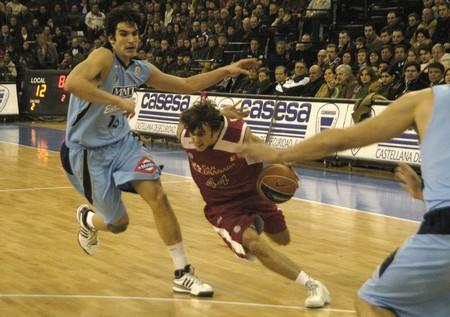 2009/01/11- Granada-Spain-Party ACB Basketball League between CB Granada and Estudiantes