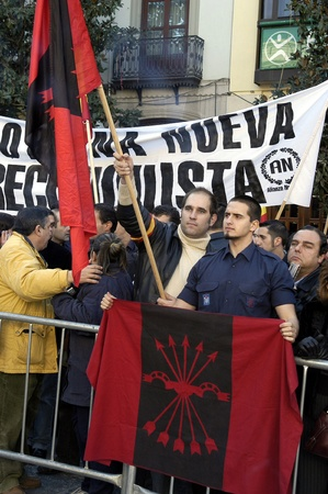 2009-01-02-Granada, Spain - Fascists in the day of the Taking of Granada