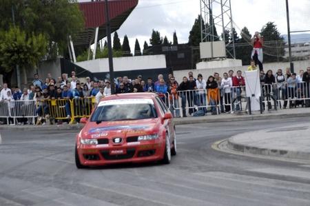 Exhibición automovilística en la localidad de Armilla, en la provincia de Granada10-10-2010