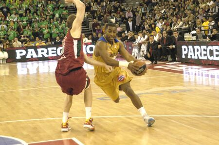 basketball game between the granada and asefa cb estudiantes 10/31/2010