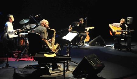 dave liebman and dani moron in the granada jazz festival. 12/11/2011