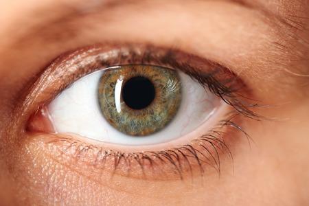 Photo pour Macro image of human eye - image libre de droit