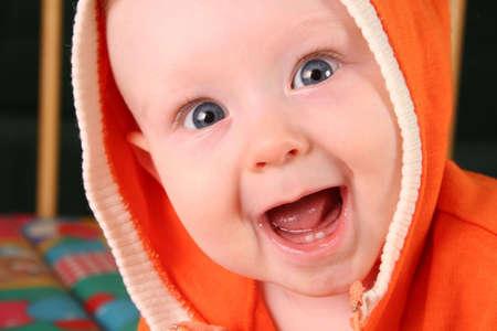 Foto de smile baby boy with tooth 2 - Imagen libre de derechos