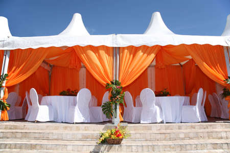 tent cafe