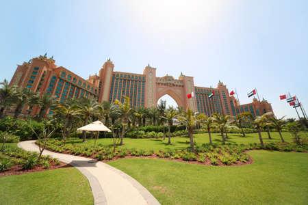 DUBAI - APRIL 19: luxury hotel Atlantis - best vacation, 19 april 2010 in Dubai, UAE.