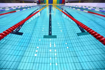 Lane of swimming pool are limited zones