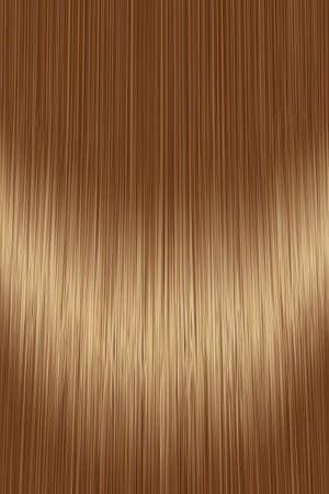 Illustration pour Realistic golden brown brunette hair texture background - image libre de droit