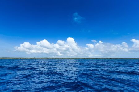 Photo pour sea in Zanzibar beach. Natural tropical water paradise. nature relax. Travel tropical island resort. - image libre de droit