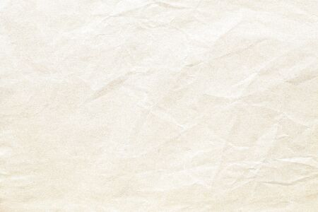 Foto de Old brown crumpled paper background texture - Imagen libre de derechos