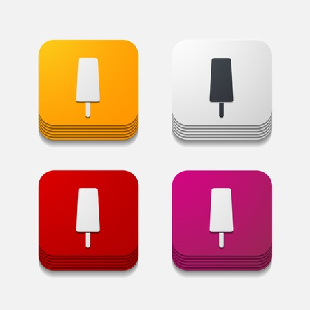 square button: ice