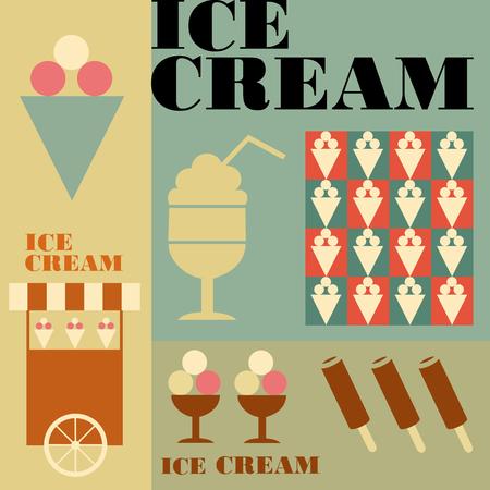 cold, delicious, dessert, brown, yellow, vector, symbol, cup, template, vanilla, cone, summer, chocolate, old, ice, icon, illustration, retro, cool, creamy, design, cream, set, sundae, menu, vintage, background, fresh, grunge, turquoise, waffle, frozen, f