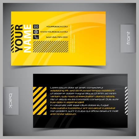 Foto de Vector abstract creative business cards (set template) - Imagen libre de derechos