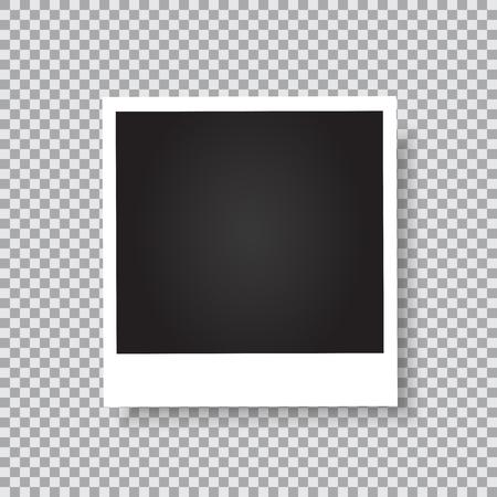 Illustration pour Retro photo frame. - image libre de droit