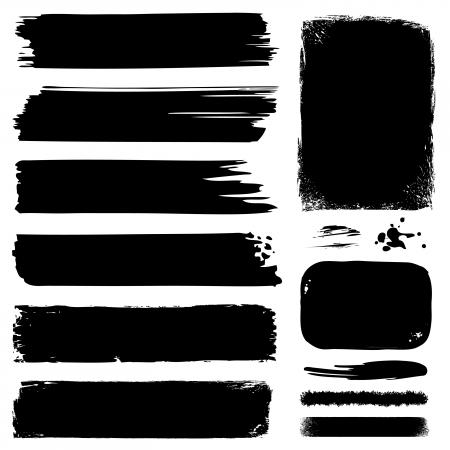 Illustration pour Banners, Frames, Lines & Strokes - image libre de droit