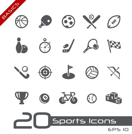 Sports Icons -- Basics