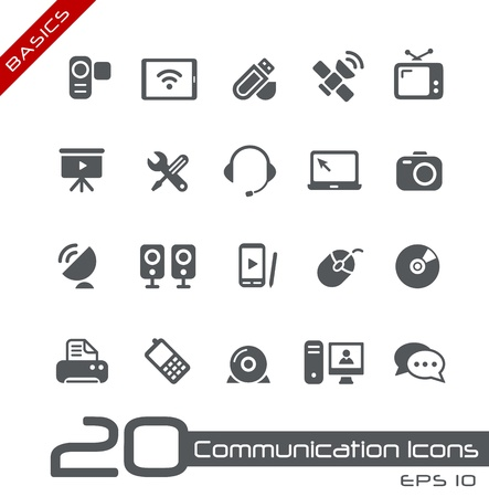 Communication Icons -- Basics