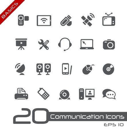 Photo for Communication Icons -- Basics - Royalty Free Image