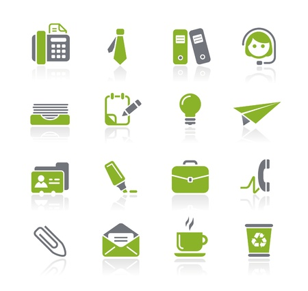 Office and Business Icons -- Natura Series