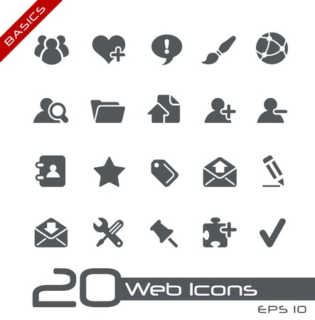Web Icons -- Basics Series