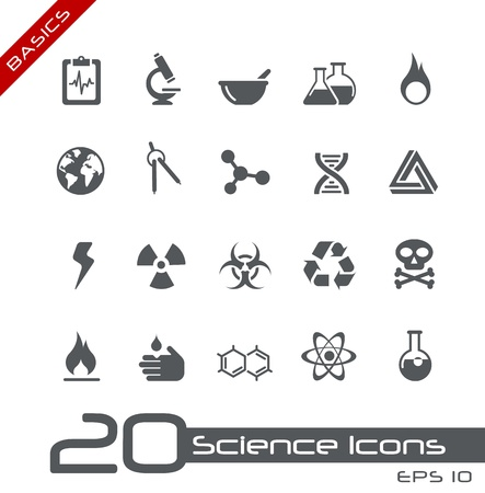 Science Icons -- Basics Series