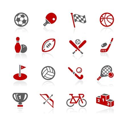 Ilustración de Sports Icons -- Redico Series  - Imagen libre de derechos
