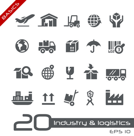 Photo pour Industry and Logistics -- Basics - image libre de droit