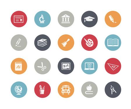 Illustration pour Education Icons Classics Series - image libre de droit