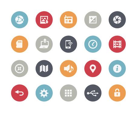 Ilustración de Web and Mobile Icons 5  Classics Series - Imagen libre de derechos